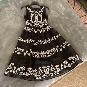 Bebe tulle dress